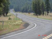 Motorcycle Roads Lake Mary Rd from Flagstaff to Payson