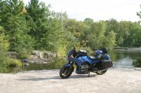 Motorcycle Roads 187 Along the Wolf River