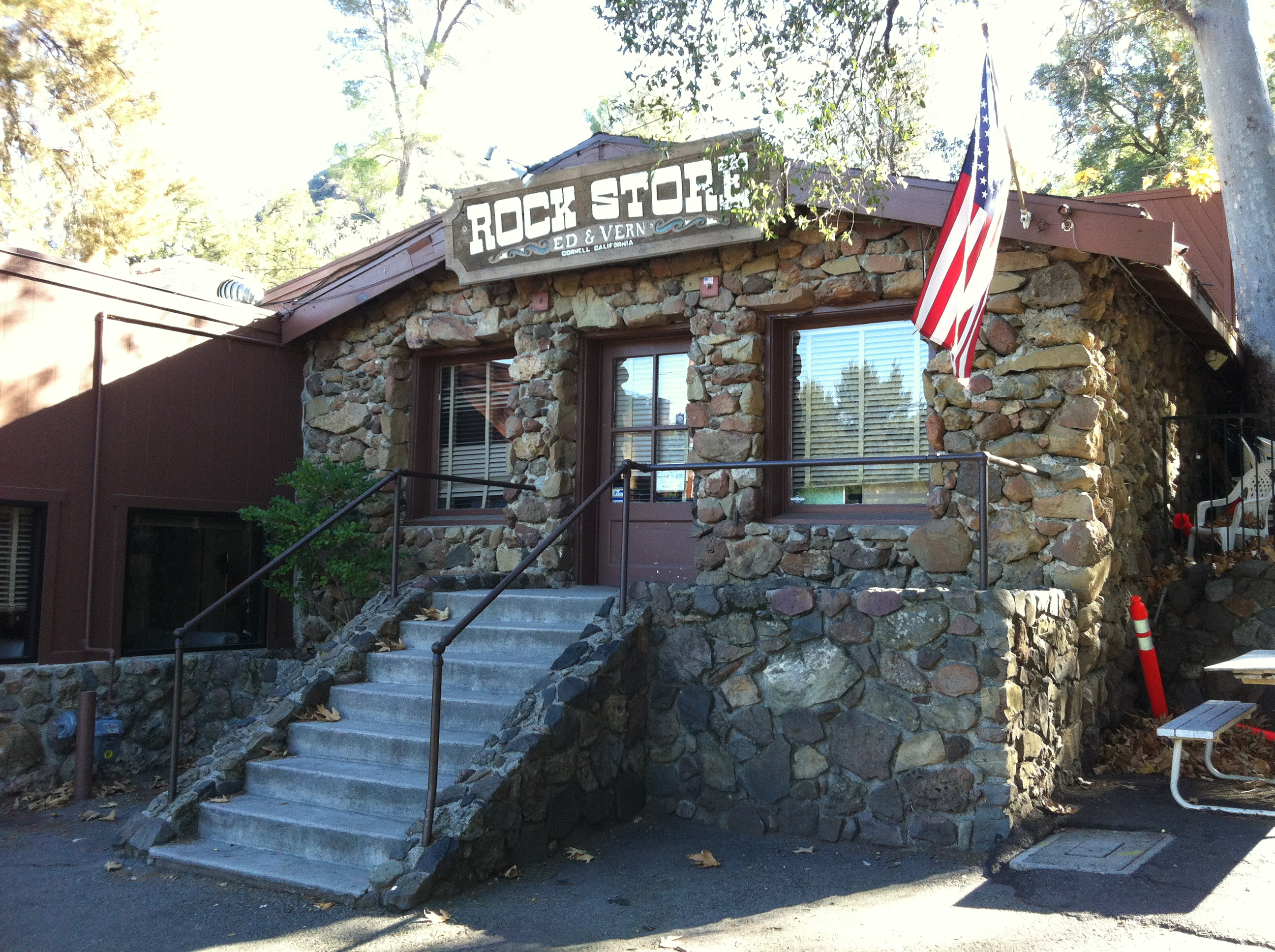 The Rock Store motorcycle place California