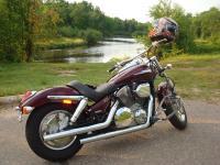 Motorcycle Roads Hwy 55, Menomonee Reservation ride