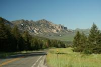 Motorcycle Roads Chief Joseph Scenic Highway-Bighorn Mountains