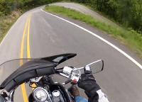 Motorcycle Roads AR Hwy 103 from Clarksville to Oark