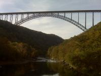 Motorcycle Roads Scenic Route to New River Gorge