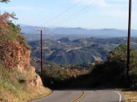 Motorcycle Roads Murrieta to Carlsbad - Mountains to Beach