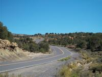 Motorcycle Roads De Beque Cuttoff - 45.5 Road