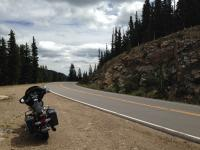 Motorcycle Roads Hwy 66/103 Evergreen Parkway to Mt Evans turnoff