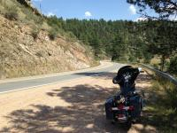 Motorcycle Roads Horsepower Hill (AKA Deckers Road)