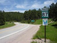 Motorcycle Roads 16 A to and thru Custer State Park