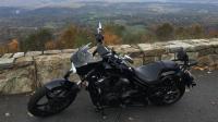 Motorcycle Roads Skyline Drive