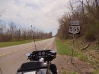 Motorcycle Roads The Triple Nickel - Route 555