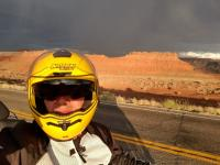 Motorcycle Roads Mexican Hat to Bryce Canyon