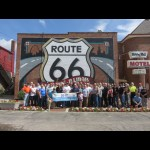 RT 66 Mother Road Ride Rally motorcycle event Illinois