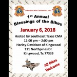 1st Annual Houston blessing of the Bikes motorcycle event Texas