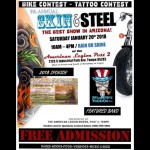 8th Annual Skin & Steel Show motorcycle event Arizona