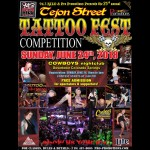 23rd Annual Tejon Street Tattoo Fest motorcycle event Colorado