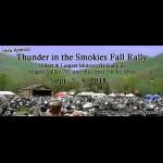 Thunder in the Smokies Fall Motorcycle Rally motorcycle event North Carolina