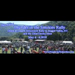 Thunder in the Smokies Spring Motorcycle Rally motorcycle event North Carolina