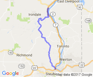 Motorcycle-Roads-Ohio-Route-213---Wellsville-to-Steubenville