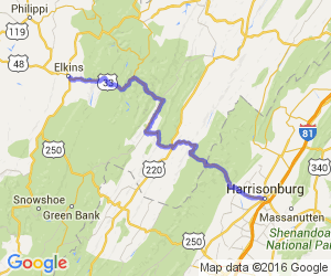 Find Motorcycle Roads Trips And Events In West Virginia USA - West virginia on a map of the us